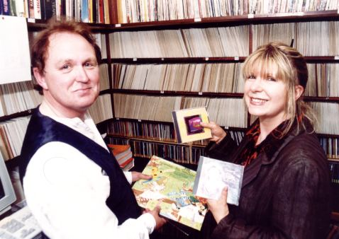 Martin Kinch and Annie Haslam - 1999